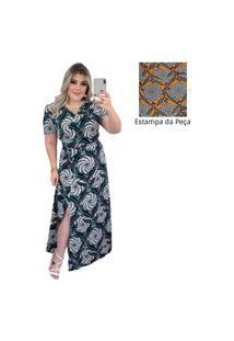 Vestido Feminino Longo Helena Moda Evangélica