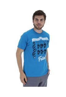 Camiseta Fatal Estampada 20274 - Masculina - Azul