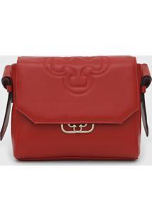 Bolsa Capodarte Logo Vermelho
