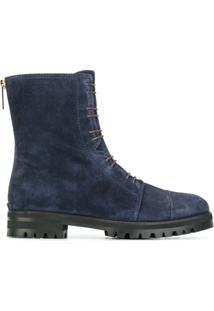 Jimmy Choo Ankle Boot Modelo 'Haze' - Azul