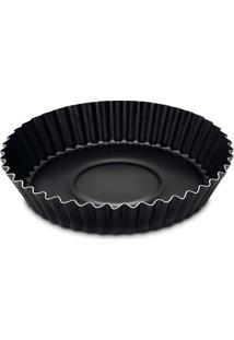 Forma Para Torta E Bolo Brasil Preta 22 Cm