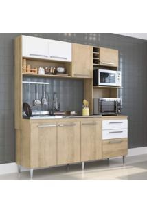 Cozinha Compacta 3 Peças 173 Blume Casamia Não Acompanha Pia E Torneira Branco