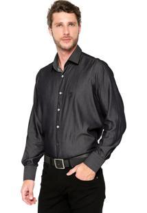 Camisa Aleatory Comfort Preta