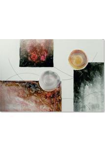 Quadro Abstrato Ii Uniart Colorido 70X100Cm