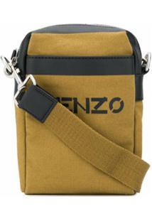 Kenzo Bolsa Transversal Pequena Com Logo Kenzo - Neutro