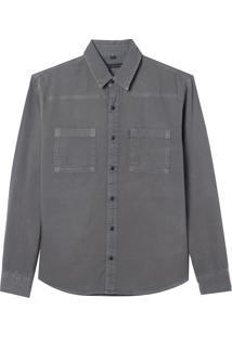 Camisa Noah (Verde Militar, M)