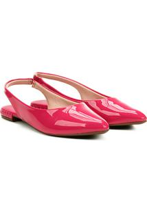 Sapatilha Moleca Slingback Feminina - Feminino-Pink