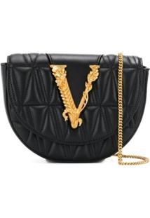 Versace Pochete Virtus - Preto