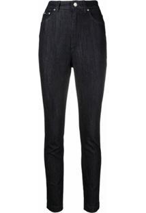 Dolce & Gabbana Calça Jeans Skinny Cintura Alta - Azul