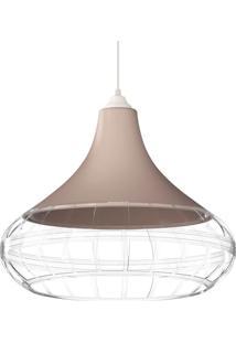 Luminaria Pendente Combine Champanhe Transparente 1440 Spirit Bivolt
