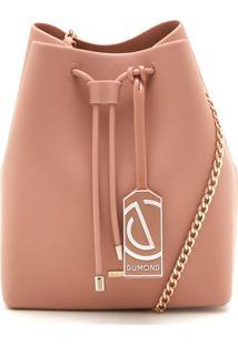 Bolsa Dumond Logo Nude