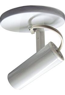 Spot Tubinho Sobrepor Branco 1E27 Sp1688/1 Kin Light