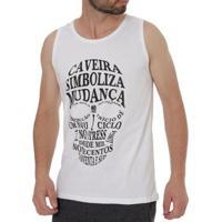 a4867c7a8 Camiseta No Stress Regata Masculina - Masculino