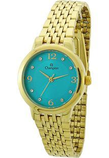 21ef7b59464 ... Relógio Champion Analógico Ch24857F Feminino - Feminino-Dourado