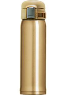 Garrafa Térmica 450 Ml Sensation Topget Dourado