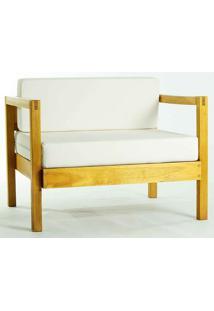 Sofá Lazy Módulo 1 Lugar Com Almofada 01.237 Amarelo Mão E Formão
