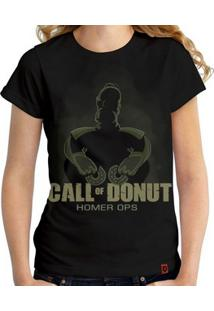 Camiseta Call Of Donut