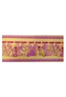 Faixa Border Kawayi 332104 Vinílico Com Estampa Infantil, Dinossauros, Abc123