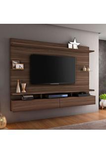 Painel Para Tv Até 60 Polegadas Aquarela Imbuia