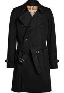 Burberry Trench Coat The Chelsea Heritage - Preto