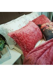 Porta Travesseiro Plush Serenity - Bene Casa