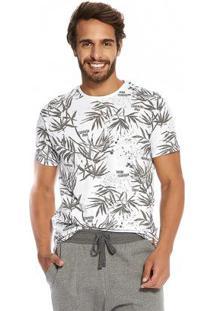 Camiseta Masculina Rovitex Branco