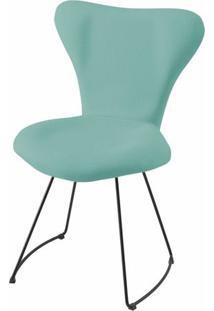 Cadeira Jacobsen Series 7 Verde Claro Com Base Curve Preta - 49618 - Sun House