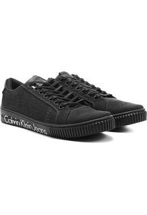 Sapatênis Calvin Klein Baixo Lona - Masculino