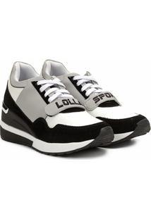 Tênis Santa Lolla Chunky Sneaker Anabela Sport Feminino - Feminino-Cinza