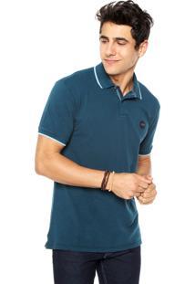 Camisa Polo Redley Originals Azul