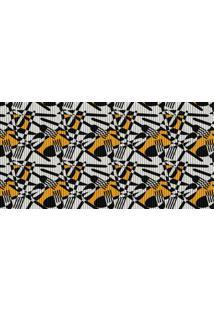 Passadeira De Cozinha Talheres Abstratos 43X130Cm - Kapazi - Estampado