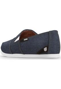 Alpargata Usthemp Slim Vegano Jeans Azul