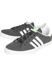 Tênis Adidas Originals Adicourt Stripes Cinza