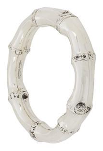 Bottega Veneta Bracelete Esmaltado - Prateado