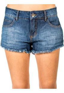 Shorts Jeans Tomboy Colcci - Feminino-Azul
