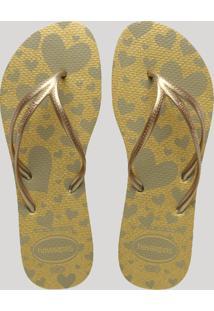 571970995e CEA. Chinelo Estampado Feminino Havaianas Metalizado Glitter ...