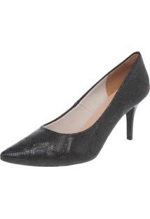 Scarpin Dafiti Shoes Básico Preto