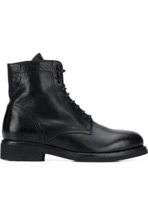 Buttero Lace-Up Ankle Boots - Preto