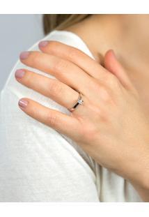 Anel Solitário De Ouro 18K Diamante 25 Pontos Desire