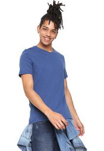 Camiseta Hering Lisa Azul