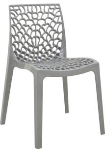 Cadeira De Jantar Gruvyer Cinza