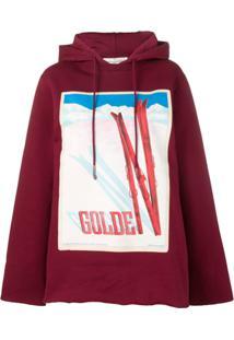 Golden Goose Deluxe Brand Blusa De Moletom Oversized  Furka  - Vermelho d38c5bd2aed93