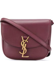 Saint Laurent Small Kaia Crossbody Bag - Vermelho