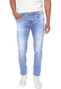 Calça Jeans Sawary Slim Sk Comfort Azul