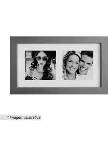 Painel Multifotos Insta- Prateado & Branco- 15X28Cmkapos