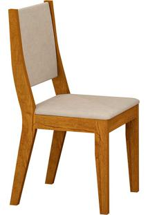 Cadeira Isis - Rufato - Imbuia / Creme