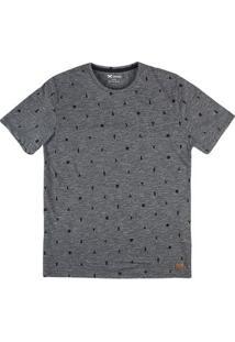 Camiseta Masculina Hering Estampada Slim