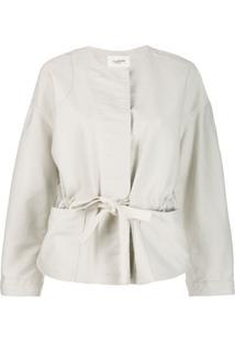 Isabel Marant Étoile Belted Boxy Jacket - Neutro