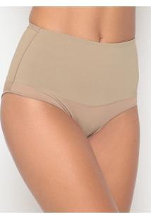 Calcinha Hot Pant Lisa- Bege- Bonjourbonjour