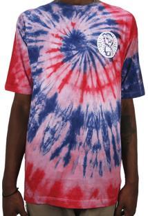 Camiseta Outlawz Tie Dye Do It Your Self Multicolorido